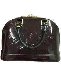 Louis Vuitton - Pre-owned Alma Bb Leather Crossbody Bag - Lyst