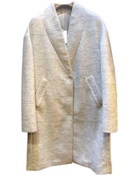 Brunello Cucinelli - Wool Coat - Lyst