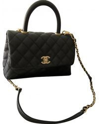 Chanel - Pre-owned Business Affinity Leather Handbag - Lyst