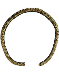 BVLGARI - Serpenti Yellow Gold Necklace - Lyst