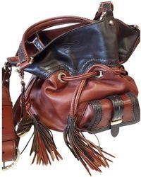 Lancel - 1er Flirt Brown Leather Handbag - Lyst