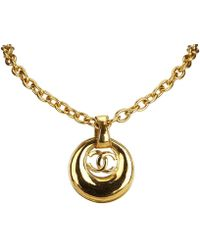 Chanel - Cc Colliers - Lyst