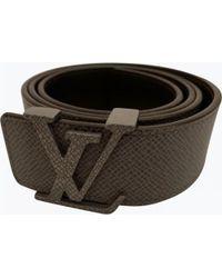 316b12242577 Lyst - Louis Vuitton Belt - Vintage in Black for Men