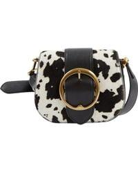 Polo Ralph Lauren - Black Leather Handbag - Lyst
