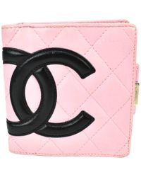Chanel - Cambon Leather Wallet - Lyst