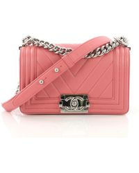 Lyst - Chanel Boy - Women s Chanel Boy Bags da33d8127ee11