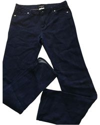 Chanel - Pre-owned Straight Jeans - Lyst