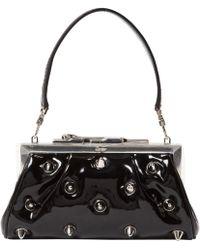 Cartier Black Patent Leather