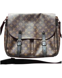 a44a60bc6dc2 Lyst - Louis Vuitton Pre Owned - Monogram Canvas Leather Marly ...