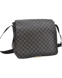 Louis Vuitton - District Brown Cloth Bag - Lyst