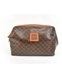 Céline - Pre-owned Cloth Vanity Case - Lyst