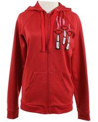 Valentino - Red Cotton Jacket - Lyst
