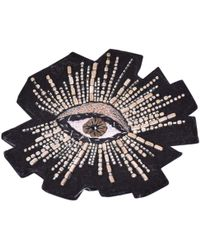 Isabel Marant - Pre-owned Black Faux Fur Pins & Brooches - Lyst