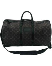Louis Vuitton - Keepall Brown Cloth - Lyst