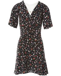 The Kooples - Pre-owned Black Silk Dresses - Lyst