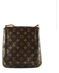 ace8014065b0f Louis Vuitton Musette Tango Long Strap Crossbody - Vintage in Brown ...