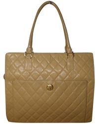 Chanel - Pre-owned Leather Handbag - Lyst