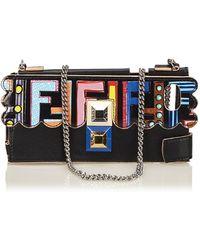 Fendi - Black Leather Purses, Wallets & Cases - Lyst