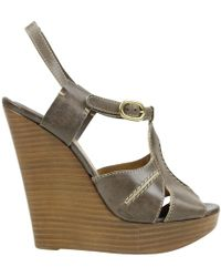 Chloé - Leather Heels - Lyst