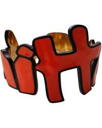 Louis Vuitton - Pre-owned Orange Steel Bracelet - Lyst