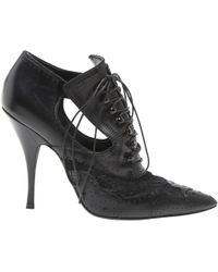Givenchy - Leather Lace Up Boots - Lyst