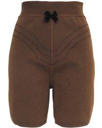 Jean Paul Gaultier - Wool Bermuda - Lyst