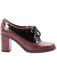 Marc By Marc Jacobs - Pre-owned Leather Lace Ups - Lyst
