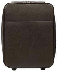 Louis Vuitton - Pegase Brown Leather - Lyst
