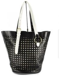 Diane von Furstenberg - Black Leather Handbag - Lyst