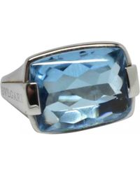 BVLGARI - White Gold Ring - Lyst