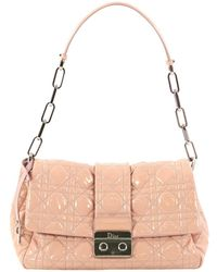 3285bf42c75e Lyst - Dior Miss Promenade Pouch Bag Silver in Metallic