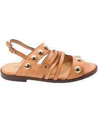 Vanessa Bruno - Leather Sandals - Lyst