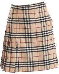 bc3f62bb44 Women's Burberry Skirts - Lyst