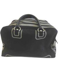 a440e44d5806 Hot Dolce   Gabbana - Black Cotton Travel Bag - Lyst