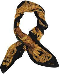 Chanel - Black Silk - Lyst