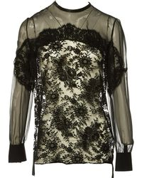 Givenchy - Lace Blouse - Lyst