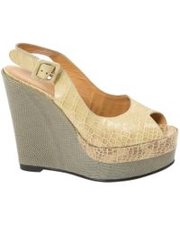 Hermès - Crocodile Sandals - Lyst