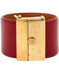 Céline - Leather Bracelet - Lyst