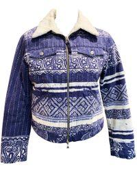 1efdfb44e3 Jean Paul Gaultier - Pre-owned Vintage Blue Cotton Jackets - Lyst