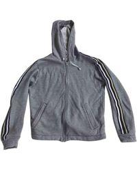 Comme des Garçons - Grey Cotton Knitwear & Sweatshirt - Lyst