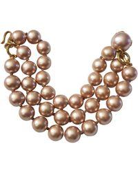 Chanel - Pearl Bracelet - Lyst