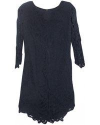 The Kooples - Blue Cotton Dress - Lyst