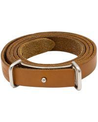 Hermès - Hapi Leather Bracelet - Lyst