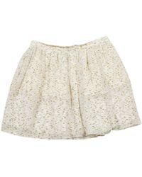 Chloé - Pre-owned Mini Skirt - Lyst