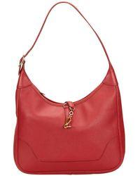 Hermès | Trim Leather Handbag | Lyst