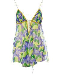 Missoni - Pre-owned Multicolour Silk Tops - Lyst