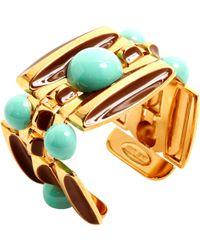 Roberto Cavalli - Pre-owned Gold Metal Bracelet - Lyst