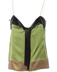 Chloé - Pre-owned Silk Camisole - Lyst