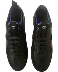 Dior - Pre-owned Leather Trainers - Lyst