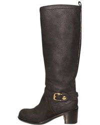 Louis Vuitton - Pre-owned Leather Boots - Lyst
